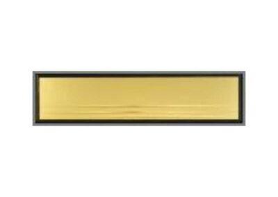 Listový vhod zlatý - lesk