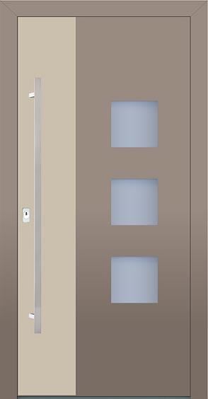 Hliníkové vchodové dvere designovej série Variable vyrobcu PERITO