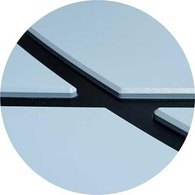 Aplikácia na vchodových dverách PERITO Variable vystupujúci nad povrch
